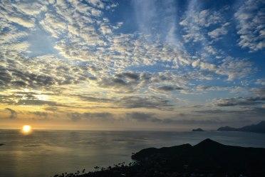 Lanikai Pillboxes Sunrise Hike, O'ahu