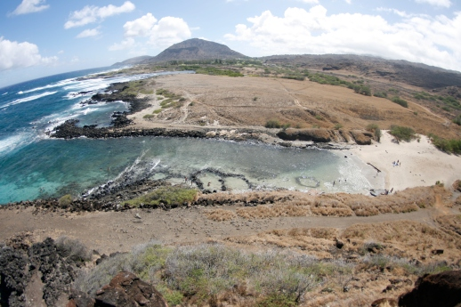 Pele's Chair Looking out over Koko Head