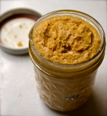 Home made nut butter.