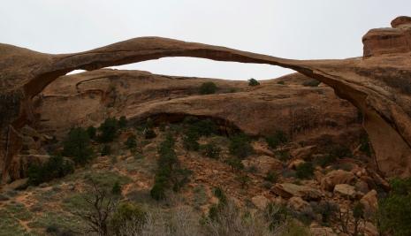 Landscape Arch...super thin!