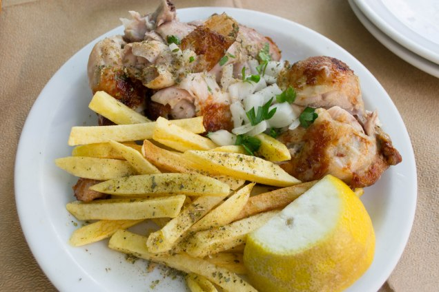"""I love how Greeks call French fries """"fried potatoes"""". I will never call these things """"French fries"""" again! Fried potatoes is far more accurate."""