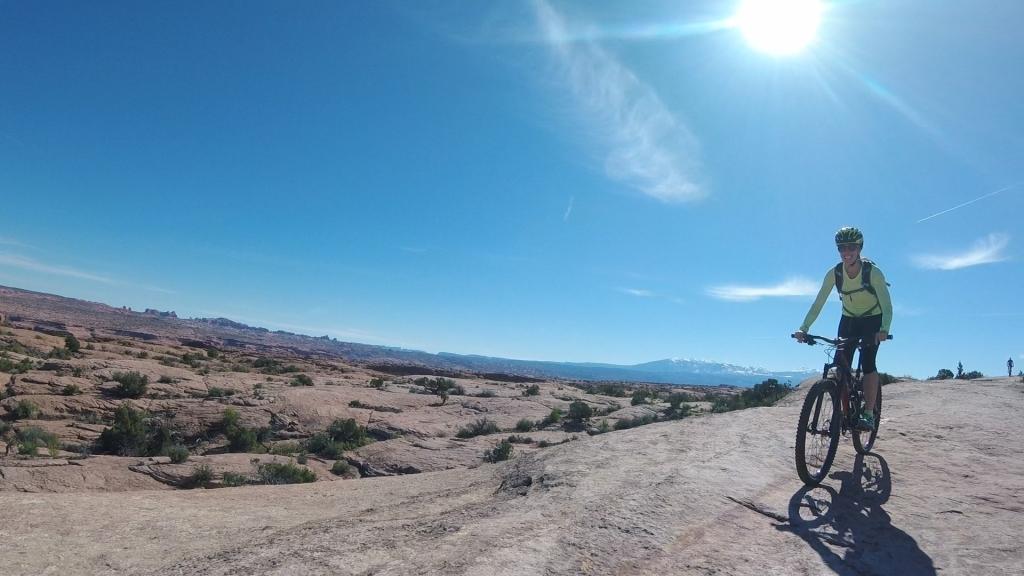 Slickrock Biking in Moab