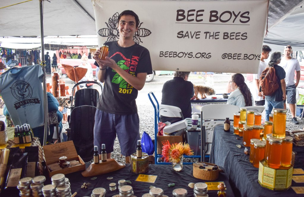 Farmers Market Bees